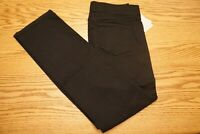 NWT WOMEN'S NYDJ NOT YOUR DAUGHTER'S JEANS Size 8 Pull On Marilyn Straight Black
