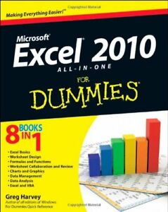 Excel 2010 All-in-One For Dummies (For Dummies (Computers)) By Greg Harvey