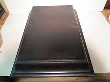 Edison Diamond Disc B-80 Phonograph Lid - Mahogany