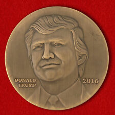 Challenge coins coin Donald trump President  United States U.S. Trump America