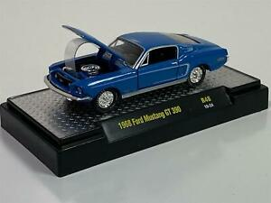 1968 Ford Mustang GT 390 R48 19-24 1:64 Scale M2 32600