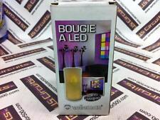 12 PCS Flameless Glass Candles Flickering LED Tea Light Good Quality Glass Vers