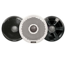 """FUSION 6"""" 2-WAY IPX65 MARINE SPEAKERS - 200W WHOLESALE CASE With 6 Pair 3 Grills"""