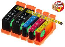 Pack x5 Lexmark 100 XL / 100XL Genérico S305 / S405 / S505 / S605 Pro205 Pro705