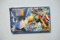 Game Boy Advance Rockman EXE 4 Blue Moon boxed Japan GBA Game US Seller