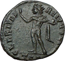 CONSTANTINE II Constantine the Great son Ancient  Roman Coin Nude SOL SUN i19683