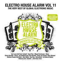 CD Electro House Alarm 11 di vari artisti 2CDs many esclusivo Tracce