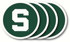 Michigan State Spartans Coasters Set of 4 Beverage Coasters