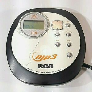 RCA Personal Portable Compact Disc CD Player MP3 Model RP 2480 powers up