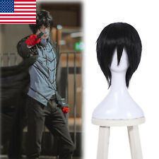 Sword Art Online Kirigaya Kazuto Kirito Cosplay Wig Black Short Straight Hair
