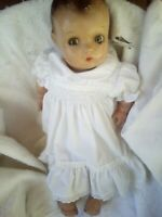 "Vintage Composition Madame Alexander ""Pinkie"" Baby Doll Sleeping ,shifting eyes"