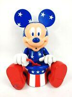 """Rare Vintage Patriotic Bubble Blowing Mickey 9"""""""