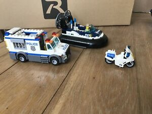 Lego City Police Vehicles