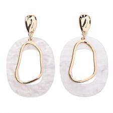 Acrylic Geometric Drop Dangle Earrings Women Statement Big Earrings Jewelry LD S