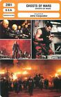 FICHE CINEMA FILM USA GHOSTS OF MARS Réalisateur John Carpenter