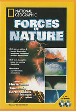 National Geographic Forces of Nature Windows PC 2xCD-rom Brand new Educational