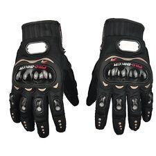 L Motorradhandschuhe Motorrad Sport Wasserdicht Warm Leder Schwarz Handschuhe
