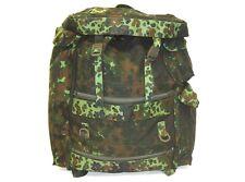Belgian surplus air force army flecktarn camouflage large backpack rucksack