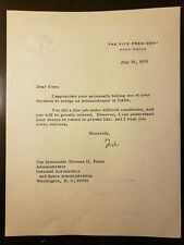 1970 NASA COLLECTION OF 50 LETTERS TO THOMAS PAINE ON HIS LEAVING APOLLO 11 BOSS
