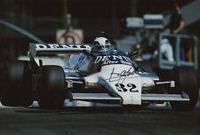 Beppe Gabbiani Hand Signed 12x8 Photo - Formula 1 Autograph F1 3.