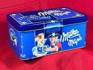 Milka Naps (Milk Chocolate w/ Alpine Milk) Tin - MADE in Austria EXCEL Condition