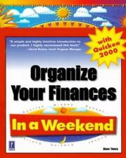 Organize Your Finances in a Weekend with Quicken Deluxe 2001