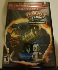 Ratchet and Clank- Going Commando (Greatest Hits) (Sony PlayStation 2, 2004) NEW
