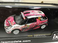 CITROEN DS3 R3 #100 ELENA MONTE CARLO IRC 2011 1:43 IXO RALLYE DIECAST RAM460