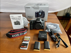 Canon EOS 5d Mark IV Body Only plus extras - (Flawless Condition, Low Shutter)