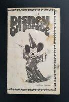 "1974 Disney On Parade ""Small World II Unit"" Wallet Size Schedule ~ Burbank, CA"