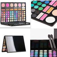 Lot Fashion 78 Full Color Pro Makeup Set Kit EyeShadow Lip Gloss Palette Blusher