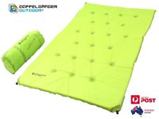 DOPPELGANGER OUTDOOR Double Self Inflating Mat Air Bed Lightweight Compact