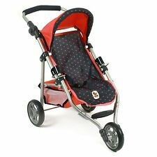 Bayer Chic 2000 Jogging-Buggy LOLA Dots Koralle NEU
