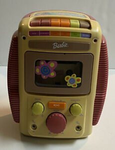 Mattel 2001 Player Barbie Sing-Along Karaoke Tape Deck Only Untested