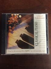 The Heart of Christmas Classical Piano by Roger Wilcock  (CD, 2000, Fox Music)
