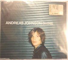 ANDREAS JOHNSON SHINE  CD SINGOLO SIGILLATO