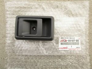 85 - 95 TOYOTA 4RUNNER REAR LEFT SIDE INTERIOR DOOR HANDLE BEZEL TRIM GRAY NEW