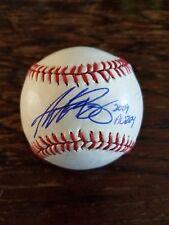 Andrew Bailey Autographed Rawlings Official Major League BP Baseball 2009 AL ROY