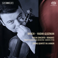Max Bruch : Bruch/Vadim Gluzman: Violin Concerto/Romance CD (2011) ***NEW***