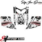SLED WRAP DECAL STICKER GRAPHICS KIT FOR SKI-DOO REV MXZ SNOWMOBILE 03-07 SL6598