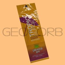 EMERALD BAY TROPIC SURGE INTENSIFIER PACKET TANNING BED LOTION SAMPLE FAST SHIP