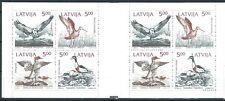 Lettland - Markenheft Naturschutz an der Ostseeküste postfrisch 1992 Mi. 340-342