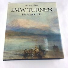 J.M.W. Turner - His Art and Life by Andrew Wilton 1979 Coffee Table Art Book