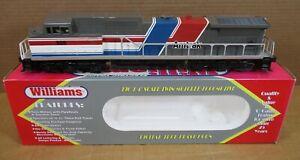 "Williams Train Dash 9 Diesel Twin Motored Locomotive Engine ""AMTRAK"" O Scale NEW"