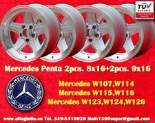 Cerchi AMG Mercedes Penta Style 2pcs. 8x16 +2pcs 9x16 Wheels Felgen Jantes TÜV