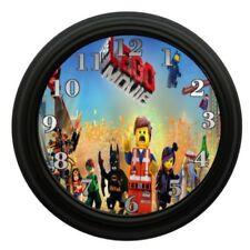 Lego Movie Wall Clock Bedroom Decor Kids Room Play Room Kids Toys
