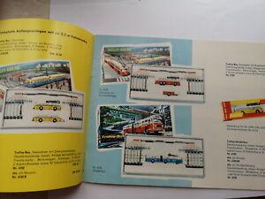 Prospekt Eheim 1964 Trolley Bus Funkturm Draisine VW T1 Seilbahn Katalog +Preise