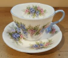 Royal Albert Blossom Time Series -  Wisteria - Cup and Saucer Sunning