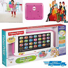 Fisher-Price Light-Up Baby Touch Tablet Pink Toy Educational Toys Girls Toddler