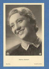 GERMAN  ACTRESS  -  ROSS VERLAG SCARCE POSTCARD  -  KATHE  DORSCH  -  1930's